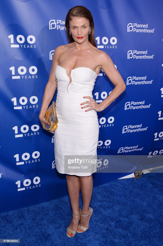 Helena Christensen attends the Planned Parenthood 100th Anniversary Gala at Pier 36 on May 2, 2017 in New York City.