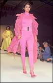 Helena Christensen Claude Montana ready to wear fashion show spring summer 1992 collection in Paris