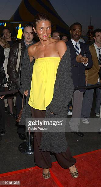 Helena Christensen during Cirque du Soleil's Latest Production 'Varekai' Grand Opening at Randall's Island Park in New York City New York United...