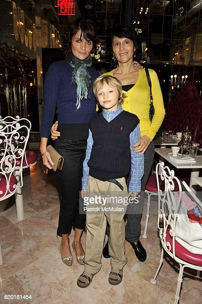 Helena Christensen Mingus Reedus and guest attend An Afternoon to Celebrate The new Ralph Lauren Childrens Store Hosted by Julie Janklow and Aerin...