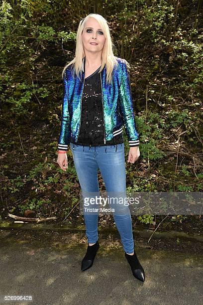 Helena Fuerst attends the 'BILD Renntag' At Trabrennbahn Gelsenkirchen on Mai 01 2016 in Gelsenjirchen Germany