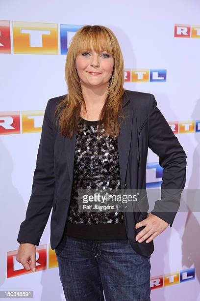 Helena Fuerst attends the RTL Programm press conference Season 2012/13 on August 16 2012 in Cologne Germany