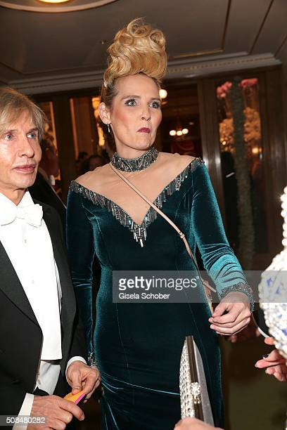 Helena Fuerst during the Opera Ball Vienna 2016 at Vienna State Opera on February 4 2016 in Vienna Austria