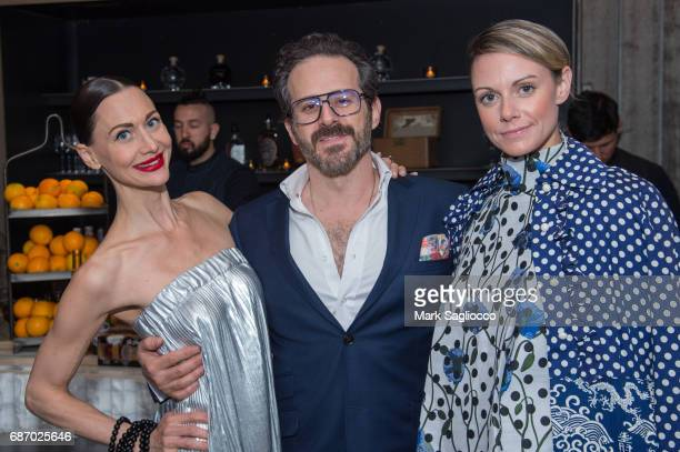 Helena Krodel David Allen and Jessie Merrill attend Gotham Magazine's Celebration of it's Late Spring Issue with Noah Syndergaard at 1 Hotel Brooklyn...