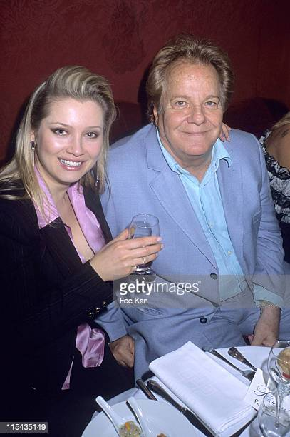 Helena Lenina and Massimo Gargia during Mumm's Bubbles and Roses Party April 24 2006 at Club Castel in Paris France