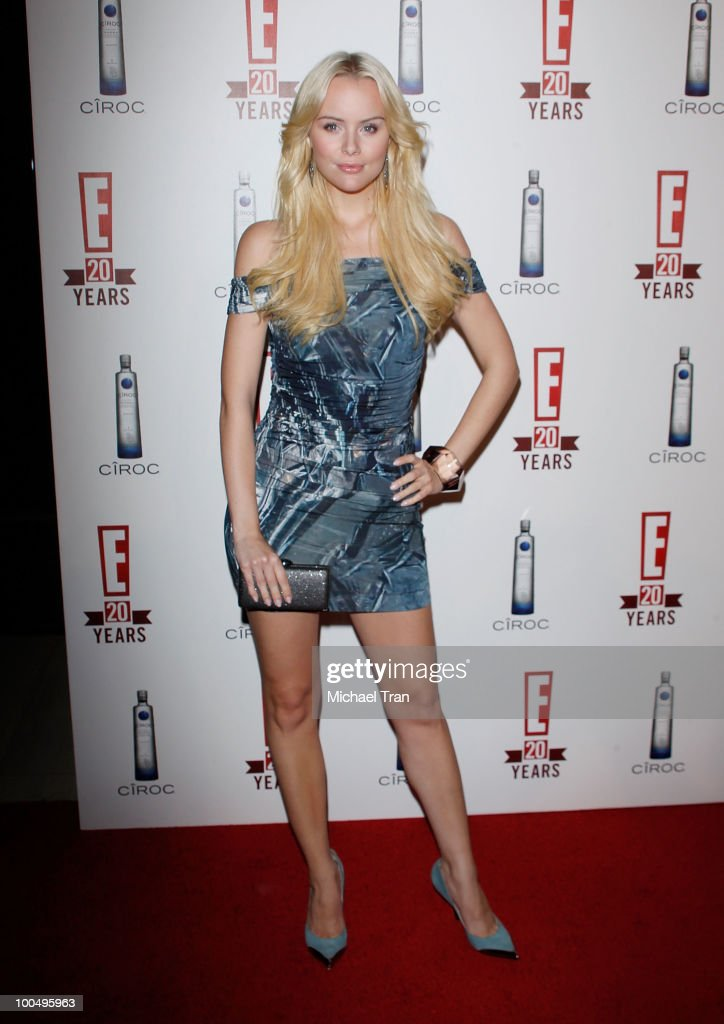 Helena Mattsson arrives to E! 20th Birthday Celebration held at The London Hotel on May 24, 2010 in West Hollywood, California.