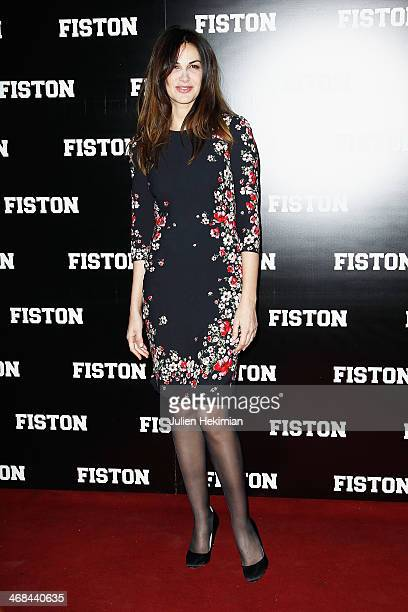 Helena Noguerra attends 'Fiston' Paris Premiere at Le Grand Rex on February 10 2014 in Paris France