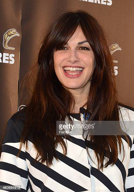 Helena Noguerra attends 'Les Lumieres 2015' Arrivals At Espace Pierre Cardin on February 2 2015 in Paris France