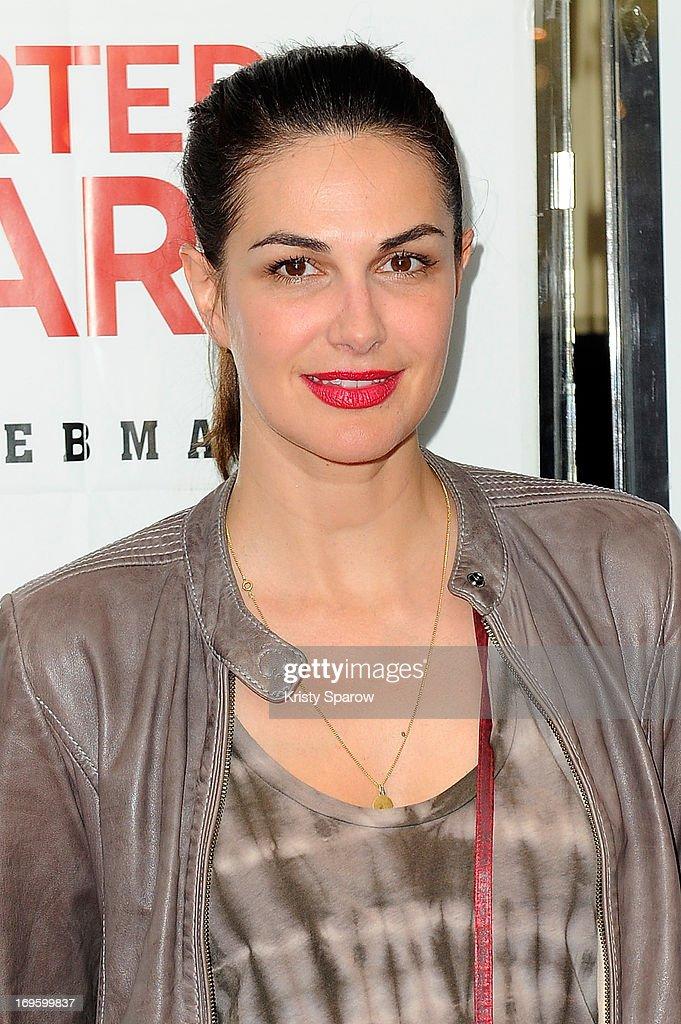Helena Noguerra attends the 'Je Suis Supporter Du Standard' Premiere at the UGC Cine Cite des Halles on May 28, 2013 in Paris, France.