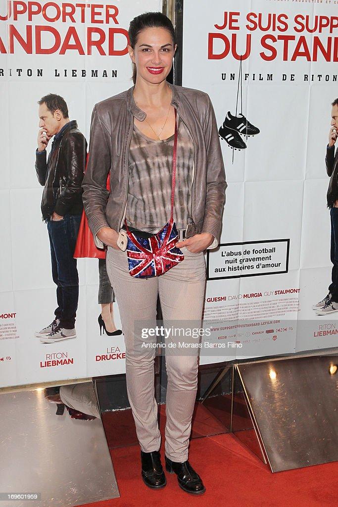 Helena Noguerra attends the 'Je Suis Supporter Du Standard' Premiere at UGC Cine Cite des Halles on May 28, 2013 in Paris, France.