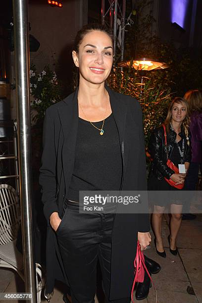 Helena Noguerra attends the show 'The Art Of Illusion' at Palais De Tokyo on September 24 2014 in Paris France