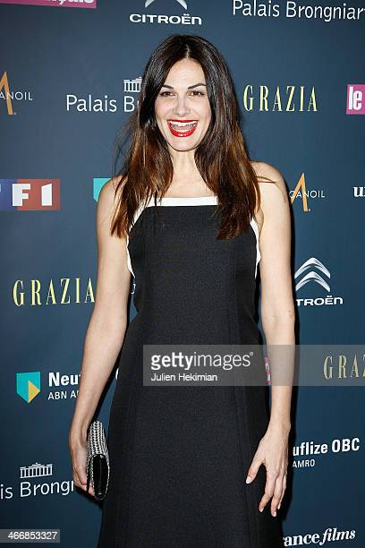 Helena Noguerra attends the 'Trophees Du Film Francais' 21th Ceremony at Palais Brongniart on February 4 2014 in Paris France