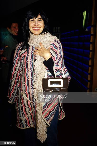 Helena Noguerra during 'A Boire' Premiere Cocktail Party at UGC Les Halles Cinema in Paris France