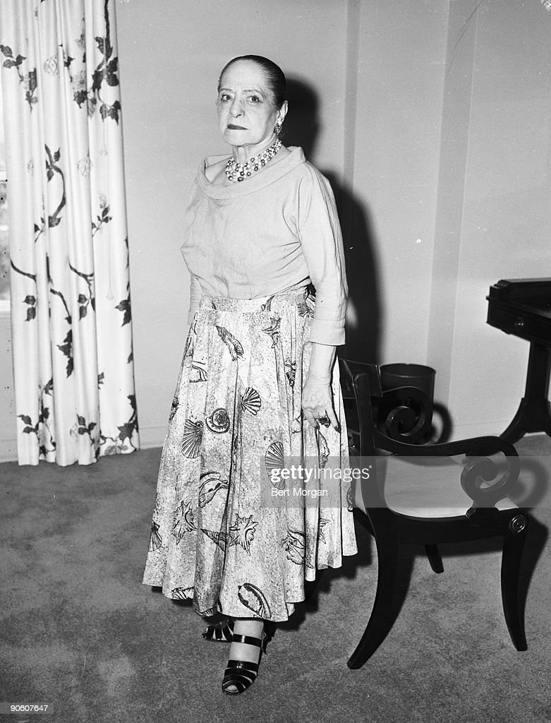 Helena Rubenstein at the Colony Club in Palm Beach, Florida. Miss Rubenstein is of 625 Park Avenue in New York City