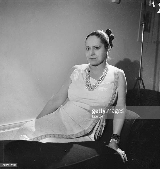 Helena Rubinstein American esthetician September 1935