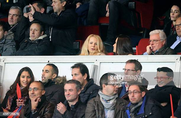 Helena Seger attends the French Ligue 1 between Paris SaintGermain FC and Olympique de Marseille at Parc Des Princes on November 09 2014 in Paris...