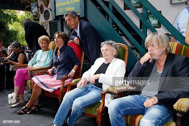 Helene Carrere d'Encausse Marisol Touraine Michel Cymes Roman Polanski and Renaud attend 21th 'La Foret des Livres' at ChanceauxPres Loches on August...