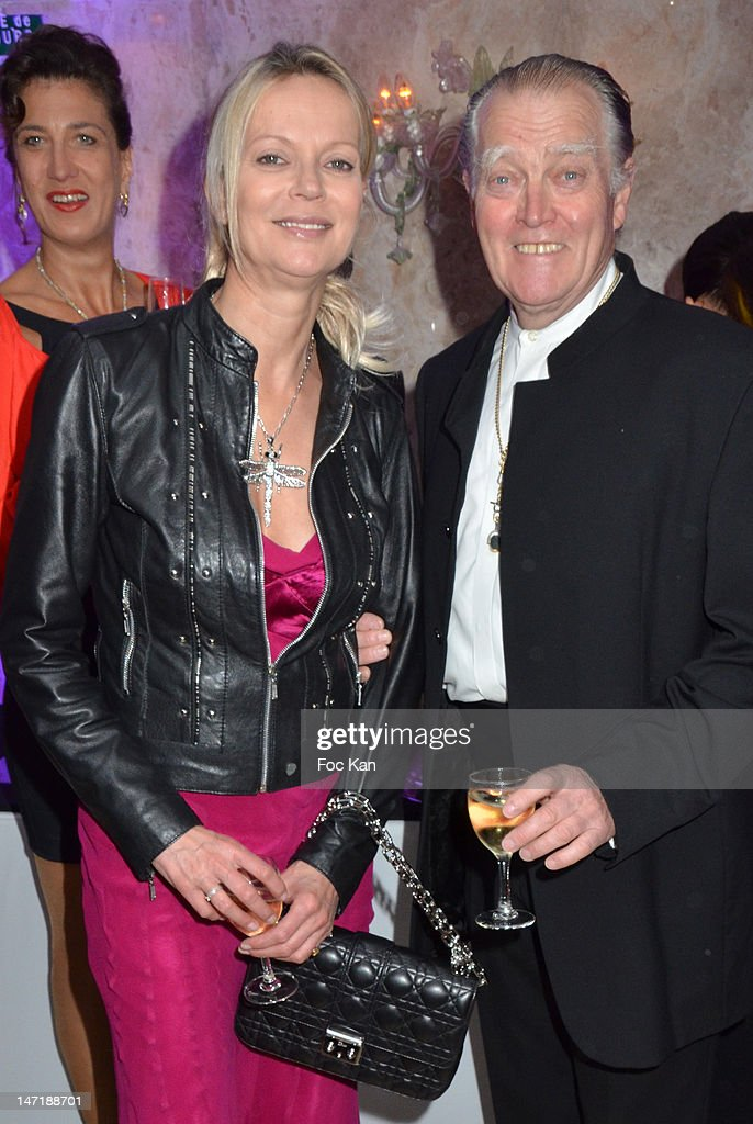 Helene de Yougoslavie and the Duc Jacques D'Orleans attend the Chateau de Saint Cloud Gala Auction Dinner at the Salons Hoche on June 26, 2012 in Paris, France.