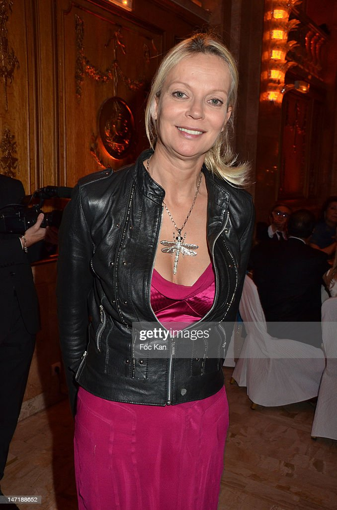 Helene de Yougoslavie attends the Chateau de Saint Cloud Gala Auction Dinner at the Salons Hoche on June 26, 2012 in Paris, France.