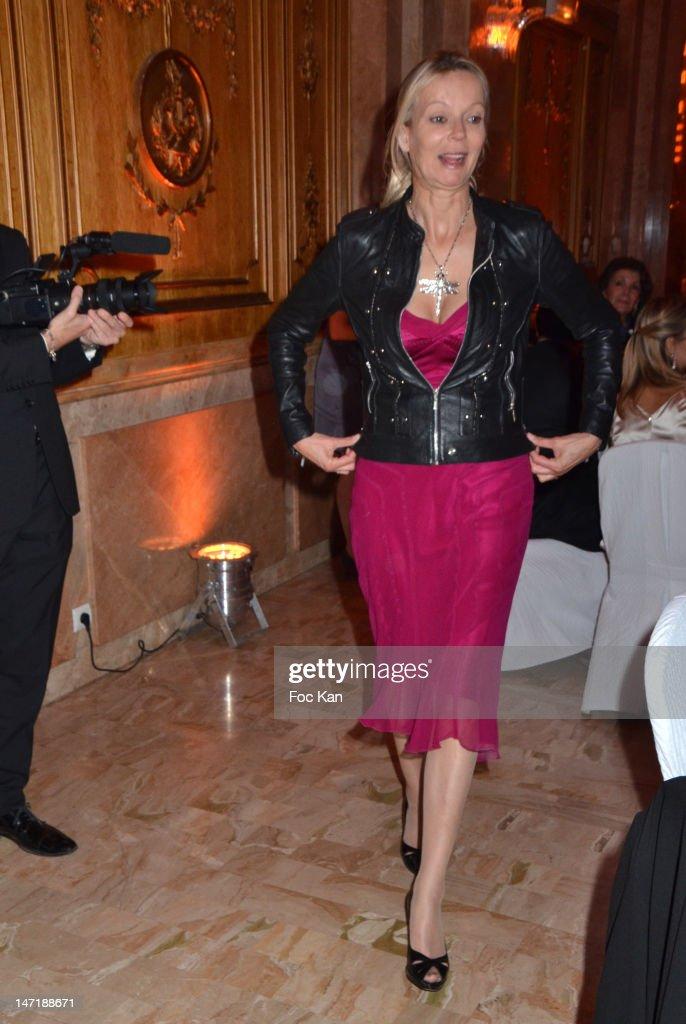 Helene de Yougoslavie attends the Chateau de Saint Cloud Gala Auction Dinner at the Salons Hoche on June 26, 2012 in Paris, France.