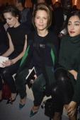 Helene Fillieres Marina Fois and Golshifteh Farahani attend the Louis Vuitton show as part of the Paris Fashion Week Womenswear Fall/Winter 20142015...