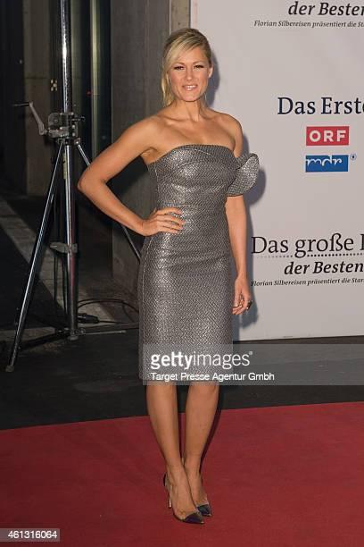 Helene Fischer attends the 'Das grosse Fest der Besten' tv show at Velodrom on January 10 2015 in Berlin Germany