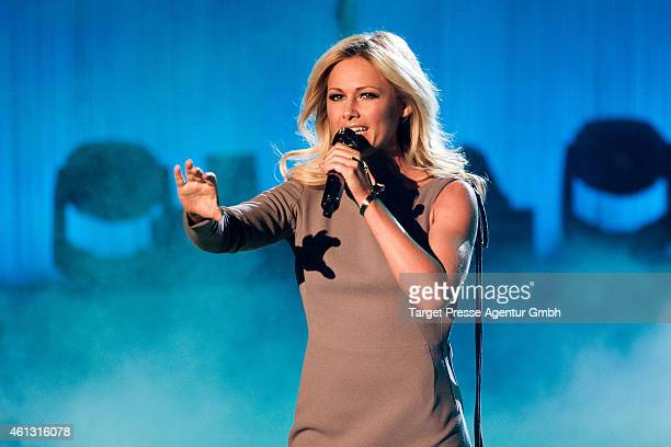 Helene Fischer attends the 'Das grosse Fest der Besten' tv show at Velodrom on January 10 2015 in Berlin Germany