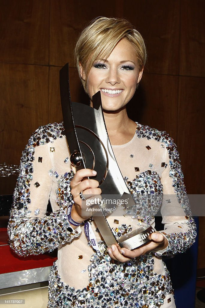 Helene Fischer attends the Echo Awards 2012 - party at Palais am Funkturm on March 22, 2012 in Berlin, Germany. .