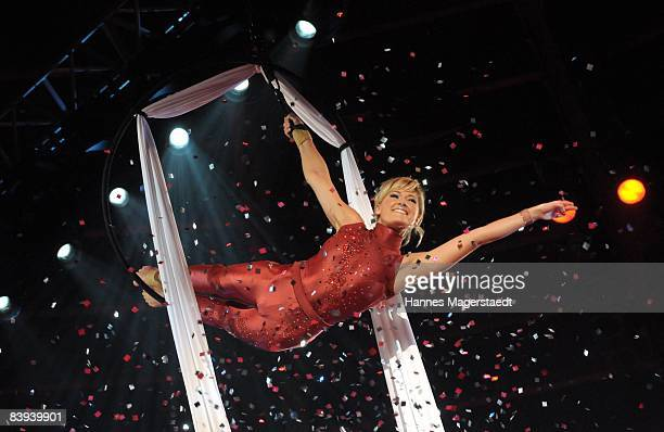 Helene Fischer attends the Stars In Der Manege At Circus Crone on December 6 2008 in Munich Germany