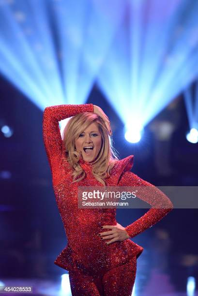 Helene Fischer attends the taping of the 'Menschen 2013' on December 6 2013 in Munich Germany