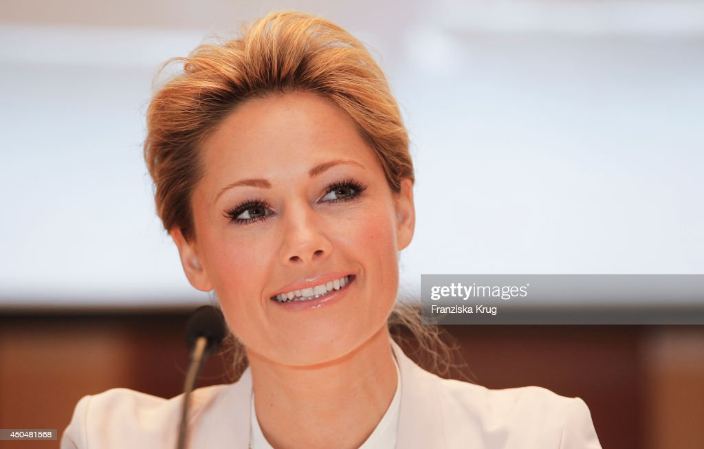 <a gi-track='captionPersonalityLinkClicked' href=/galleries/search?phrase=Helene+Fischer&family=editorial&specificpeople=3628333 ng-click='$event.stopPropagation()'>Helene Fischer</a> attends the the christening of the ship 'Mein Schiff 3' on June 12, 2014 in Hamburg, Germany.