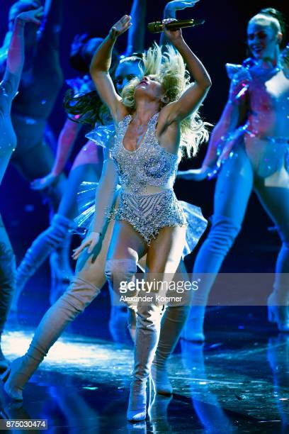 Helene Fischer on stage during the Bambi Awards 2017 show at Stage Theater on November 16 2017 in Berlin Germany