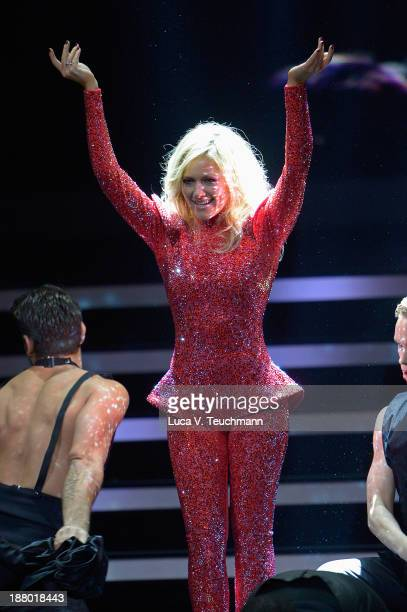 Helene Fischer performs on stage at the Bambi Awards 2013 at Stage Theater on November 14 2013 in Berlin Germany