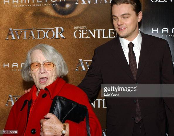 Helene IndenBirken and Leonardo DiCaprio