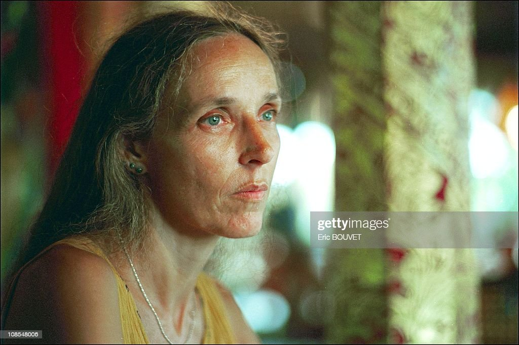Helene Le Touzey, mother of Mickael Blanc, Frenchman jailed in Indonesia for having smuggled hashish in scuba diving cylinder in Indonesia in February, 2001.