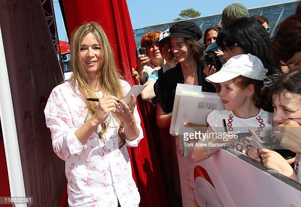 Helene Rolles attends Photocall for 'Les Mysteres de l'Amour'' during the 51st Monte Carlo TV Festival on June 9 2011 in Monaco Monaco