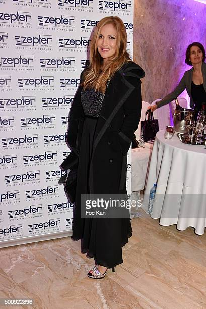 Helene Segara attends the 'The Bests 2015' Awards Ceremony At Salons Hoche on December 10 2015 in Paris France