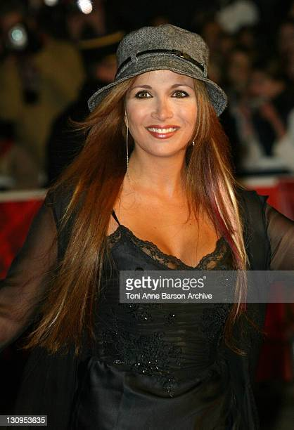 Helene Segara during 2004 NRJ Music Awards Arrivals at Palais des Festivals in Cannes France
