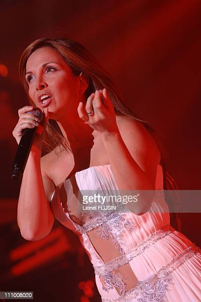 Helene Segara performs at the Grand Casino in Geneva Switzerland on May 09th 2007