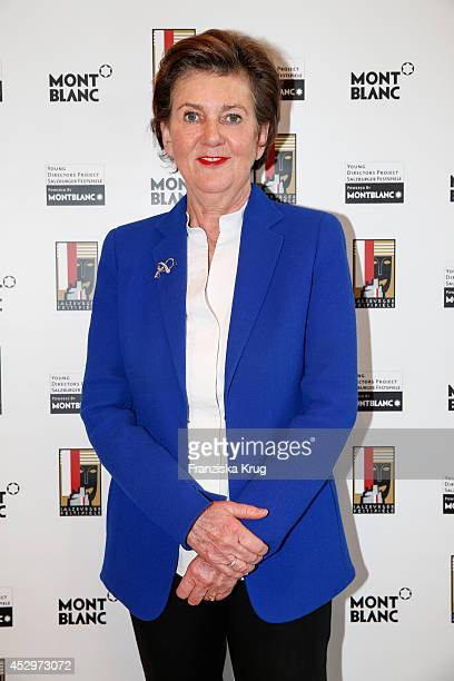 Helga RablStadler attends the Montblanc Young Directors Project at Salzburg Festival press conference on July 31 2014 in Salzburg Austria