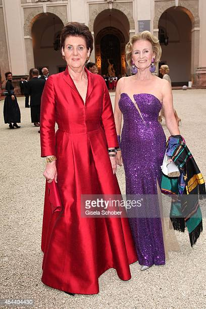 Helga RablStadler Elisabeth Guertler attend the Salzburg Festival Ball at Felsenreitschule on August 30 2014 in Salzburg Austria