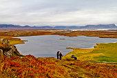 Helgafell Holy Mountain in Stykkisholmur Iceland taken on 10/3/2013