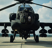 Helicopter, Apache Army Attack Aircraft