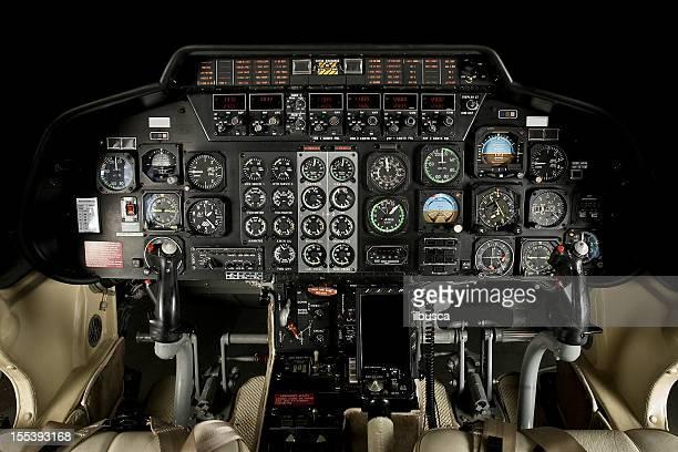 Helicóptero Cabine de Piloto de Avião