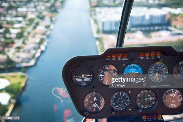 Helicopter Flight Control Panel While on Tour