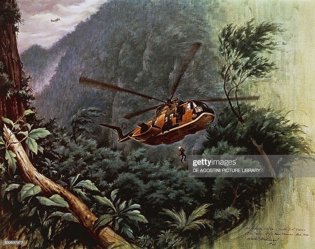 u s helicopter flying over the vietnamese jungle pictures