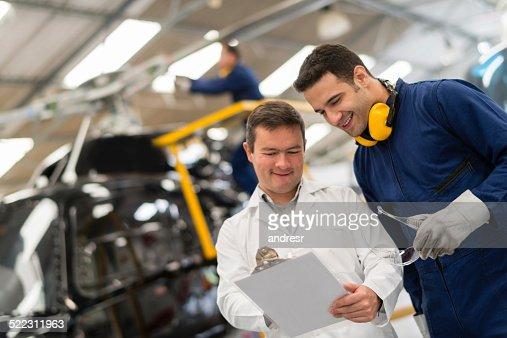 Helicopter mechanics