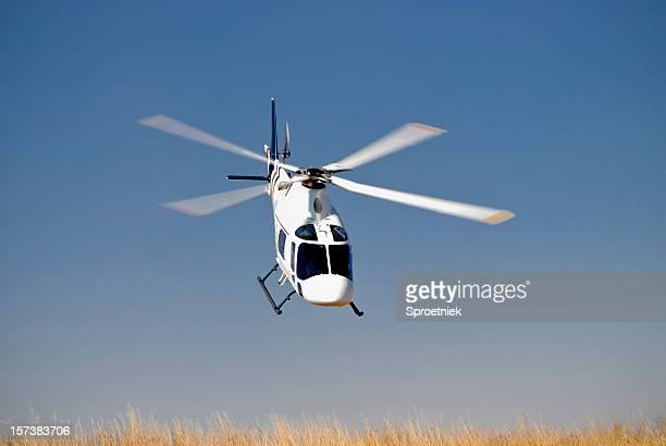 ヘリコプターに鼻傾斜ダウン