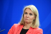 Helle ThorningSchmidt Denmark's prime minister reacts during a news conference at the Chancellery in Berlin Germany on Thursday June 19 2014 German...