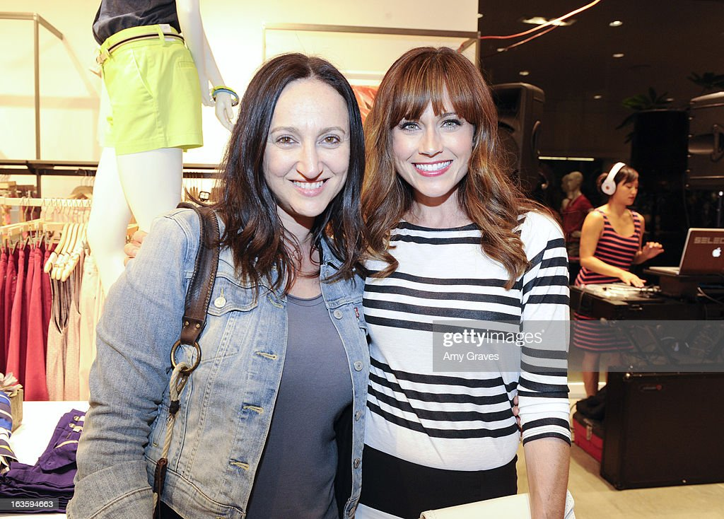 Hellin Kay and Nikki DeLoach attend the LOFT Pop-Up On Robertson event on March 12, 2013 in Los Angeles, California.